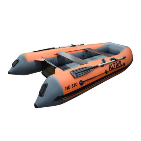 Лодка ПВХ надувная моторная HD 320 НДНД оранж (67)