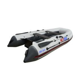 Лодка ПВХ надувная моторная HD 320 НДНД (бело-серая) 54