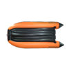 Лодка ПВХ надувная моторная HD 380 НДНД с фальшбортом оранж альтаир