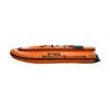 Лодка ПВХ надувная моторная HD 380 НДНД с фальшбортом оранж альтаир (6)