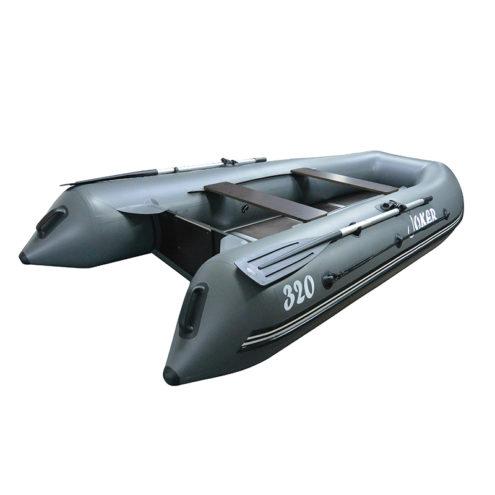 Лодка ПВХ надувная моторная Joker R-320 серый