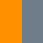 Оранжево-серый