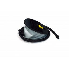 Насос ножной пластиковый двухкамерный 7 л