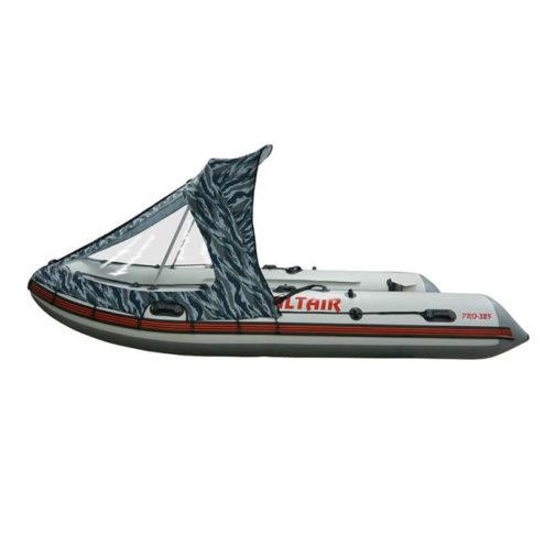 Тент полурубка на лодку