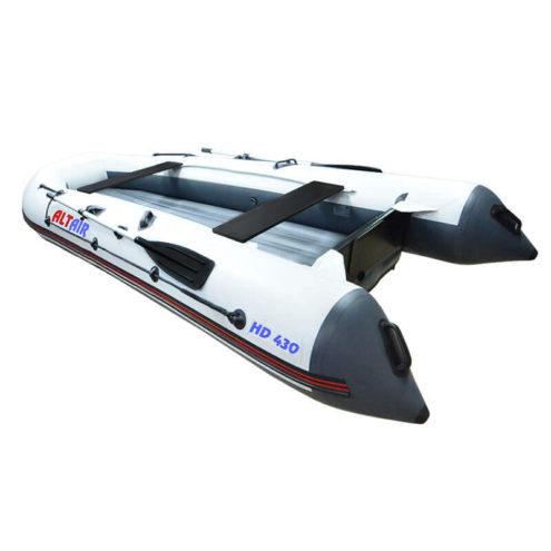 Лодка ПВХ надувная моторная HD 430 (55)