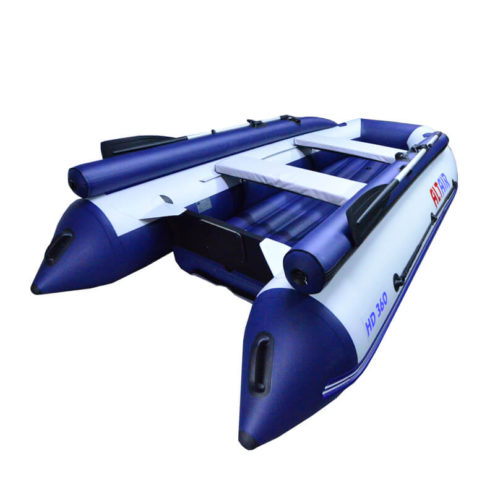 Лодка ПВХ надувная моторная HD 360 фальшборт (1)