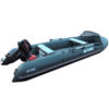 Лодка ПВХ надувная моторная HD 430 (1)