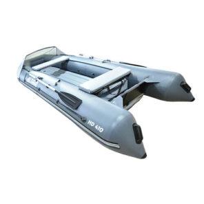 Лодка ПВХ надувная моторная HD 410 ЛЮКС (3)