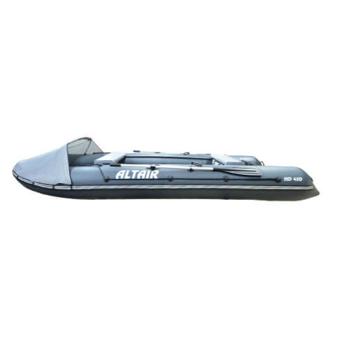 Лодка ПВХ надувная моторная HD 410 ЛЮКС (2)