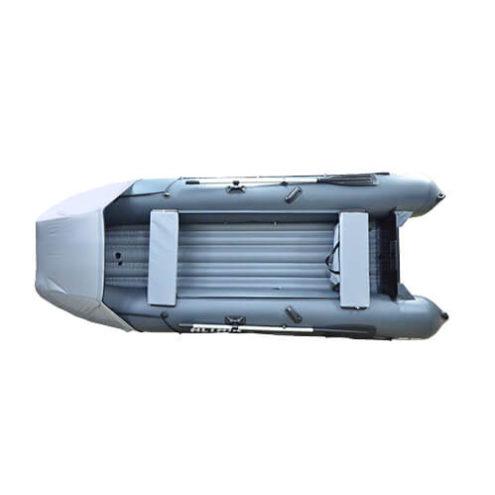 Лодка ПВХ надувная моторная HD 410 ЛЮКС (1)